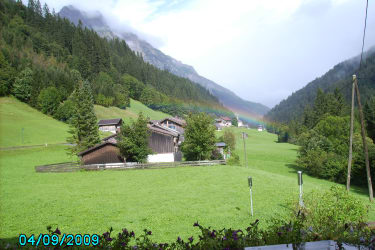 Berghof am Schwand - das Glück unterm Regenbogen