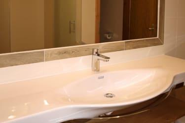Badezimmer Silberdistel