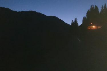 Nacht Hütte