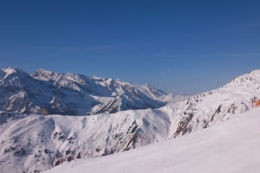 Zillertaler Alpen im Winter