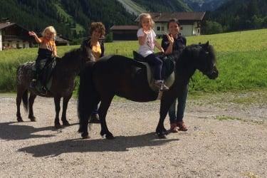Ausritt mit den Ponys