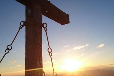 Sonnenaufgang am Rastkogel