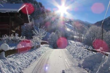 Sonne und Schnee - Juchee