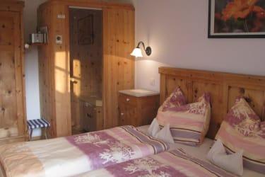 Ferienwohnung Ringelblume Schlafzimmer
