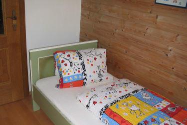 Ferienwohnung Gartenteich Kinderzimmer