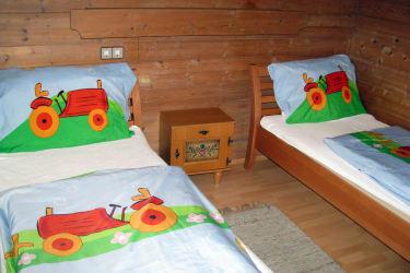 Ferienwohnung Nussbaum Kinderzimmer