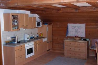 Ferienwohnung Nussbaum Küche
