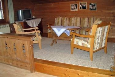 Ferienwohnung Nussbaum Wohnbereich