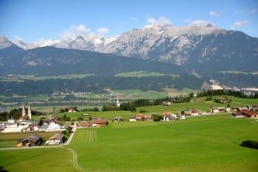 Weerberg mit Panorama - Karwendel