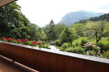 Blick vom Balkon - Süden