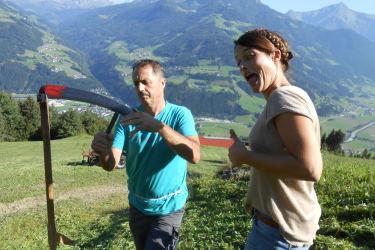 Sommerurlaub am Bauernhof im Zillertal