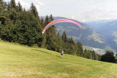 Drachenfliegerstartplatz im Zillertal