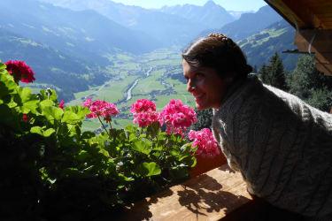 Panoramablick vom Ferienhaus Breierhof