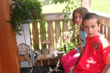 Unsere Kinder Natalie u. Patric