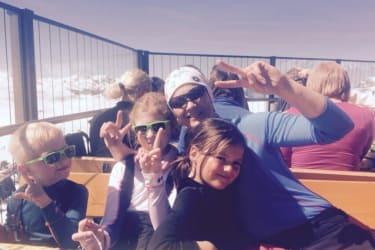 Ein toller Skitag mit unseren Gästekindern Ben und Roalie