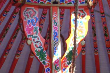 Jurten Detail