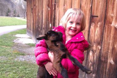 Magdalena mit dem Ziegenkitz