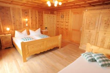 Schlafzimmer Wohnung Montafon