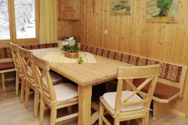 Ferienwohnung Wohnküche Montafon