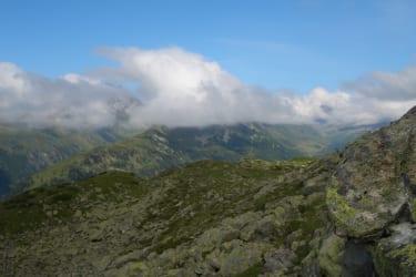 Panoramablick von der Alpe Käfera