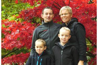 Ihre Gastgeberfamilie Bereuter