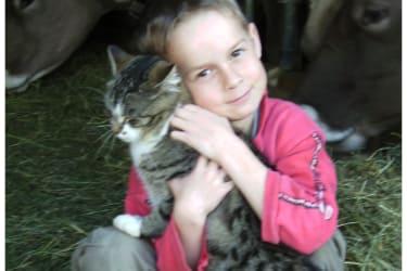 Luca mit Nina