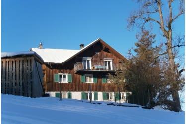 Ihr Familienbauernhof im Winter