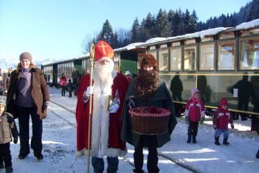 Nikolausfahrt mit dem Wälderbähnle