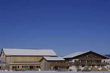 Bauernhof Greber Andelsbuch im Winter