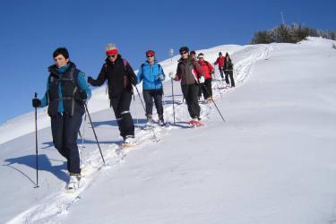 Schneeschuh-Wandern ein Genuss