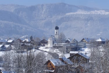 Winter in unserem Dorf