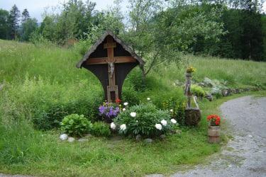 Vorsäß mit Kräutergarten