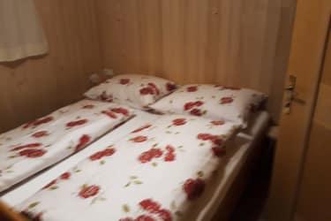 Doppelzimmer in der Ferienwohnung Farnachstube