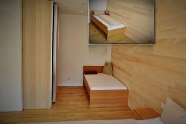 FeWo 1 - Zimmer 1 - Zusatzbett