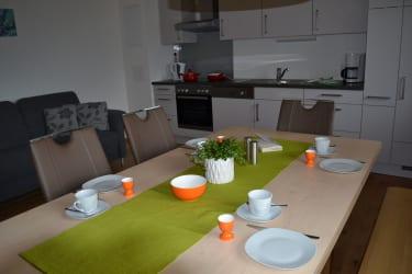 Dorfblick-Küche