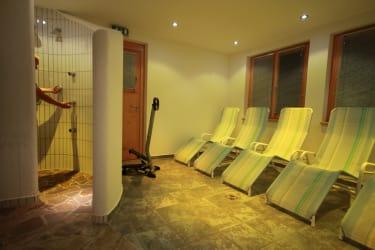 Sauna mit Frischluftmöglichkeit