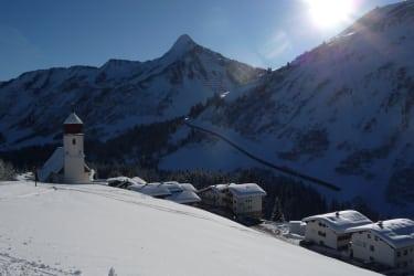 Kirche Winter