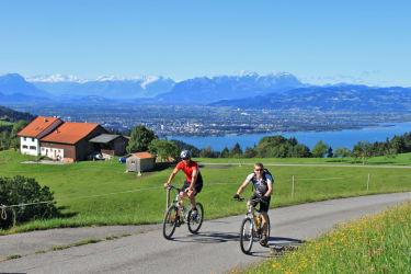 Mountainbiken in Eichenberg