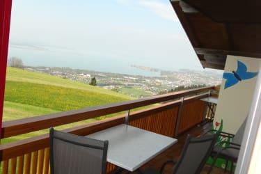FeWo - Balkon und Blick