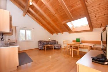 Wohnraum Dachwohnung