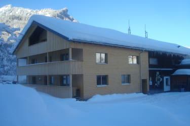 Bauernhof Bertsch im Winter