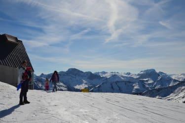 Blick von der Gipfelbahn