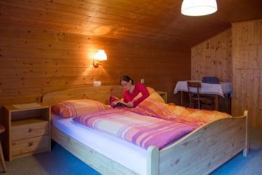 Doppelzimmer in der Ferienwohnung Fichtenwald