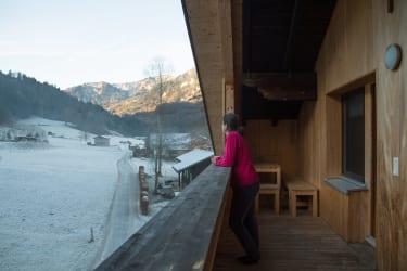 Balkon - Ferienwohnung Fichtenwald