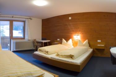 Zweites Schlafzimmer in der Ferienwohnung Bergahorn