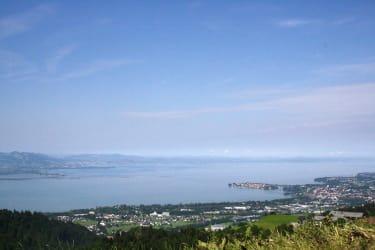 Vom Aussichtspunkt - Blick auf den Bodensee