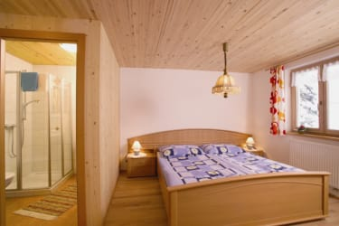 Ferienwohnung Rotenbergblick - Schlafzimmer
