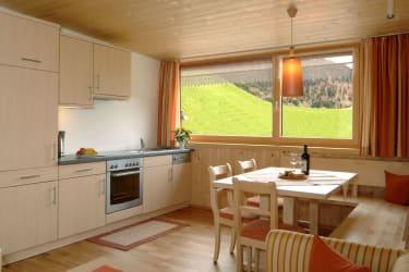 Küche Wohnung Sonnenaufgang