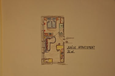 Junior Appartement Grundriss