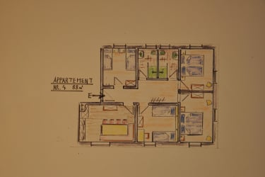 Appartement Auenfeld - Grundriss